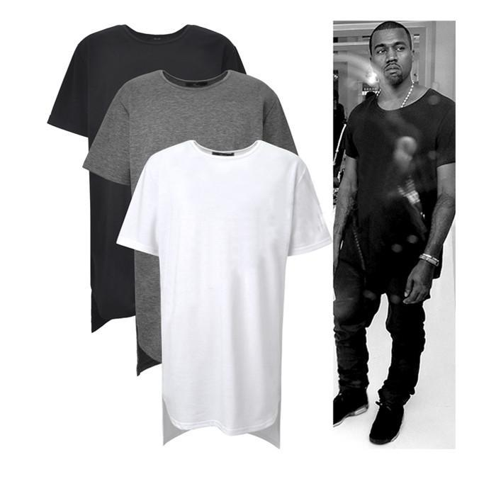 Long High Low Tee New 2015 Fashion Hip Hop Man Summer Tops T Shirt T Shirt  Men Tyga Swag Clothing Clothes Kanye West All Shirts Ridiculous T Shirts  From ... 84409f76ff48