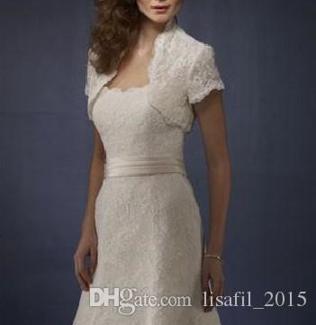 Großhandel 2017 Retro Spitze Hochzeitskleid Weiß Sexy Volle Spitze ...