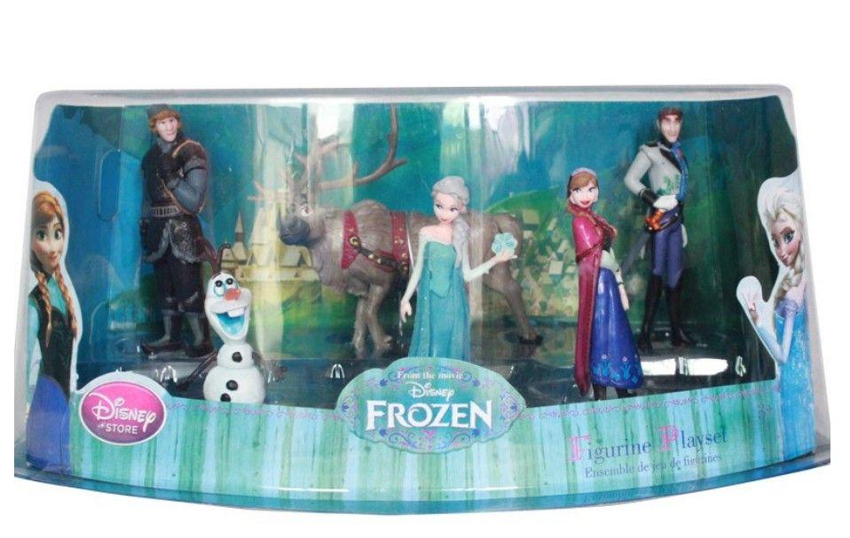 2019 Pvc Frozen Figurines Anna Elsa Hans Kristoff Sven