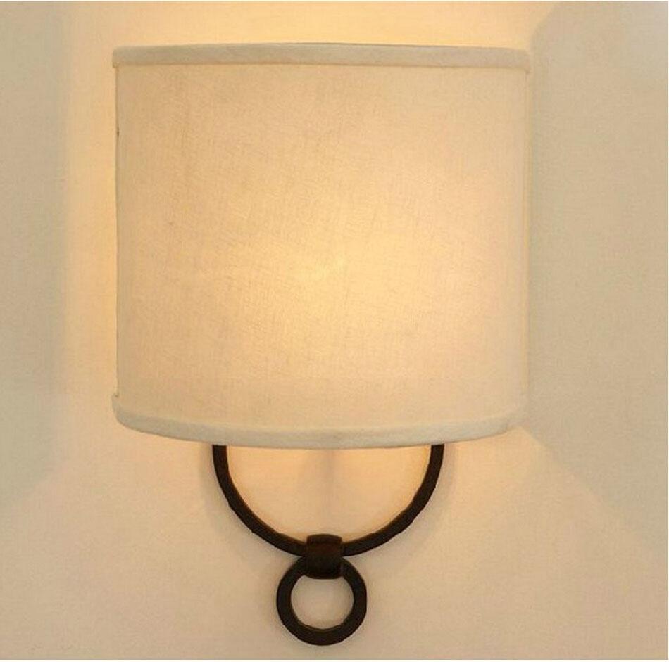 New Design Romantic Bedside Foyer Living Room Sconce E14 Wall Lamp ...