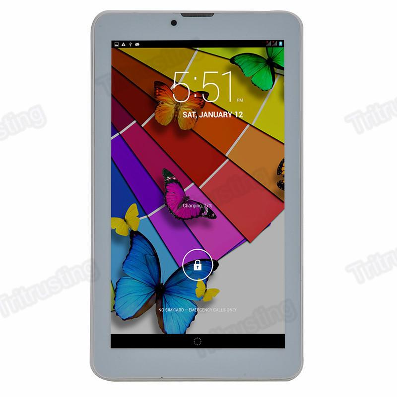 7 Inch 3G Phablet Android 4.4 MTK6572 Dual Core 1.5GHz 512MB RAM 4GB ROM 3G Phone Call GPS Bluetooth WIFI Dual Camera Tablet PC 706 MQ20