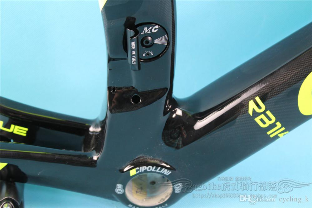 Full Carbon Fiber T1000 1K Cipollini RB1000 road bike frame MCipollini carbon frame M15 3 Sizes: XS, M, L