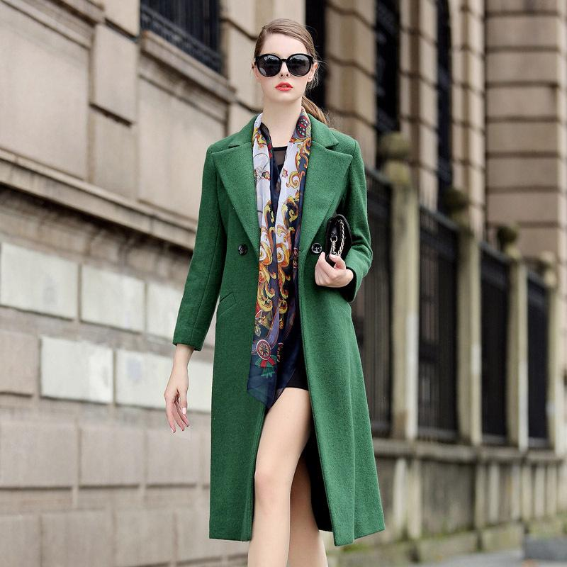 Wool Coats For Women Petite 2015 Europe Slim Fashion Long Ladies ...