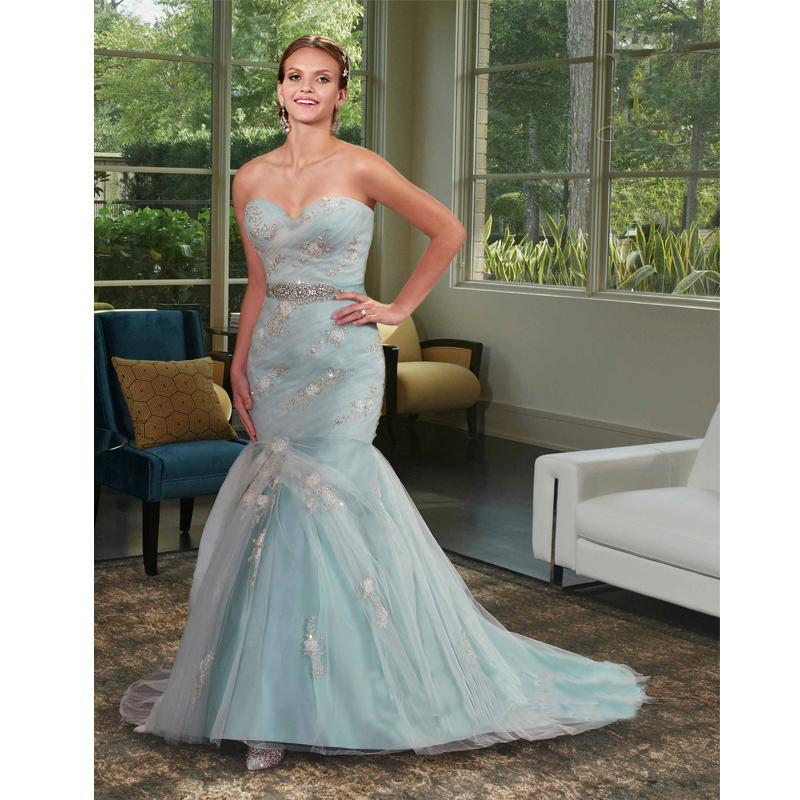 Mint Green Mermaid Wedding Dress Sweetheart Organza Overlayer