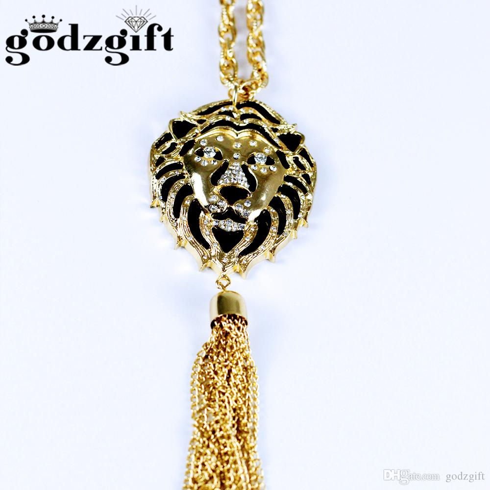 Wholesale godzgift gold lion face necklaces pendants custom gold wholesale godzgift gold lion face necklaces pendants custom gold jewelry personalized initial necklace handmade birthday gift jn0081 best friend necklaces aloadofball Gallery