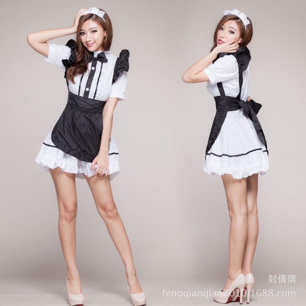 w1029 halloween lolita gothic cosplay costume sissy maid dress