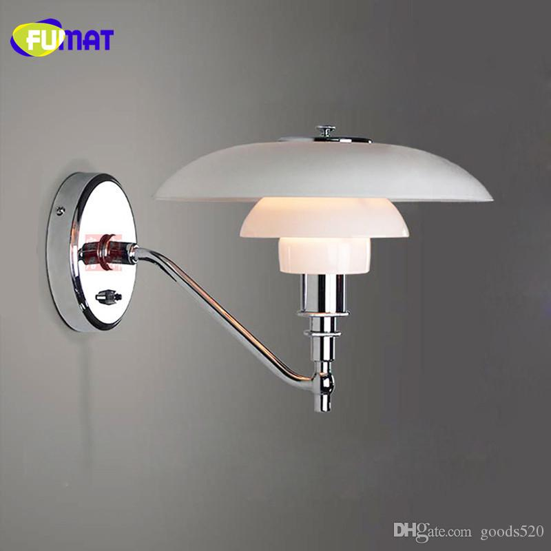 2018 Fumat Wall Lamps Chrome Wall Sconces Modern Wall Lamp Bedroom Bedside  Light Bathroom Lamp Fixtures Mirror Light Nordic From Goods520, $216.09 |  Dhgate.