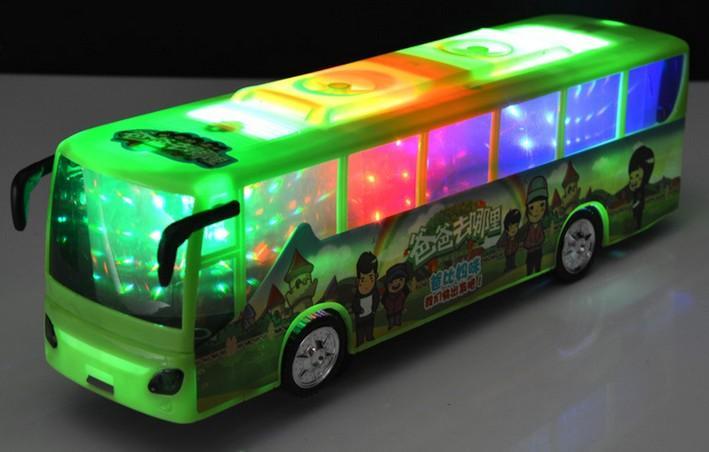 Bus Toys For Girls : Plastic cute bus model toys kids boys girls birthday