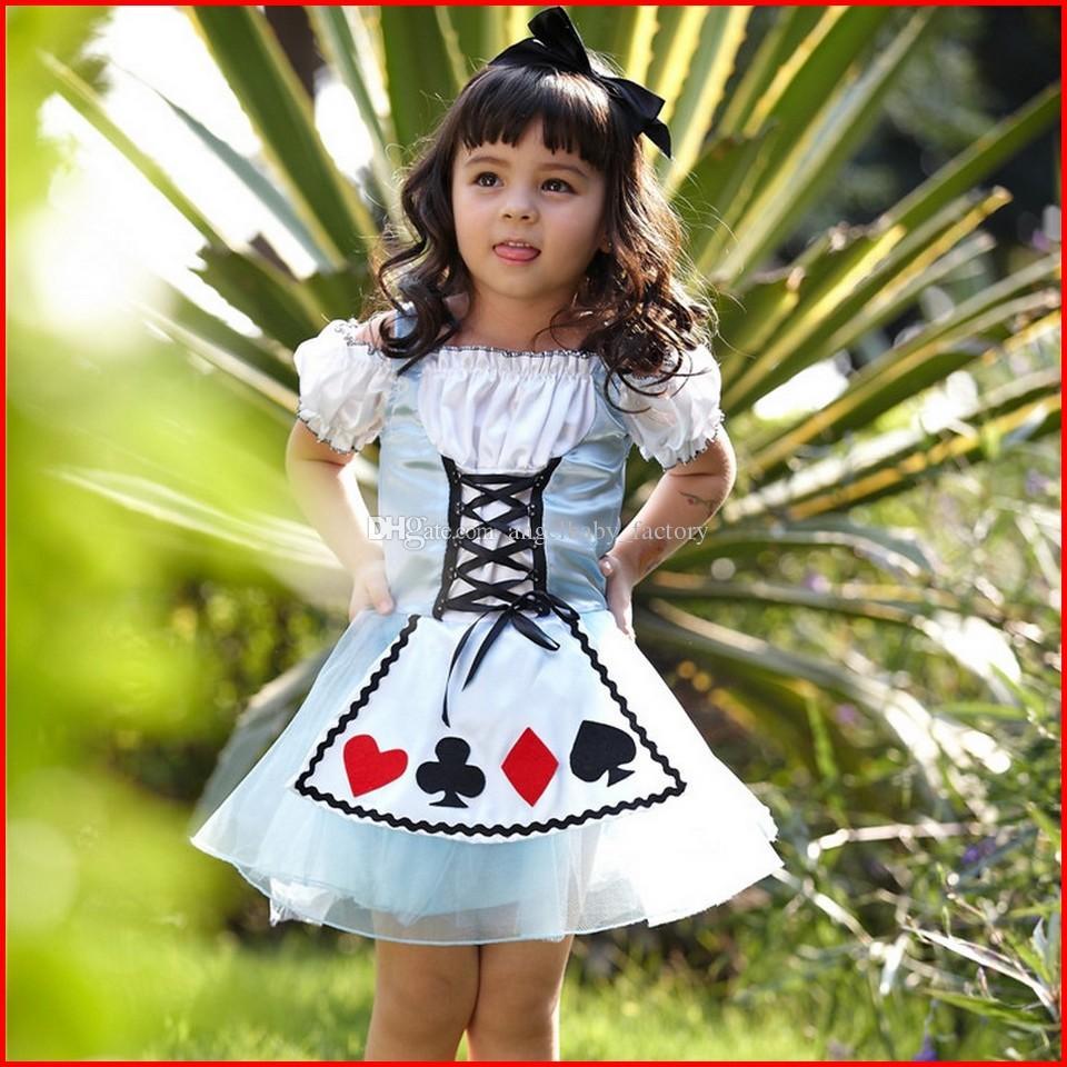 2018 Alice In Wonderland Dress Fairy Tale Princess Coaplay Dress