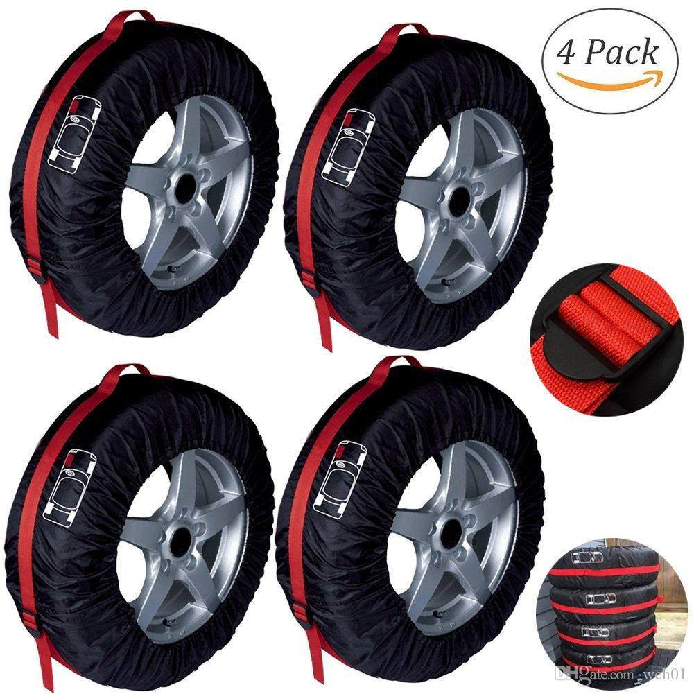 2019 Spare Tire Rim Covers Tyres Tote Wheel Protection Cover With