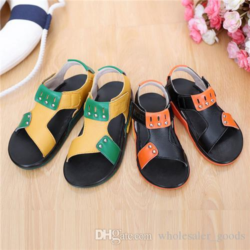 Baby Shoes Boys Sandals Baby Shoes Fashion Boys Summer Non Slipper And  Comfortable Sandals Hot Kids Adjustable And Flexible Beach Shoes Cute Kid  Shoes Girls ...