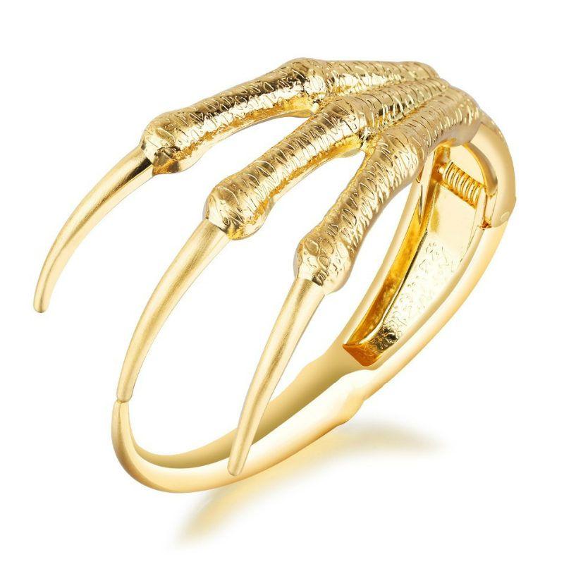code de promo vaste sélection plus près de Bracelets or bracelets griffe aigle bracelet pour garçon cool or aimant  hommes bijoux