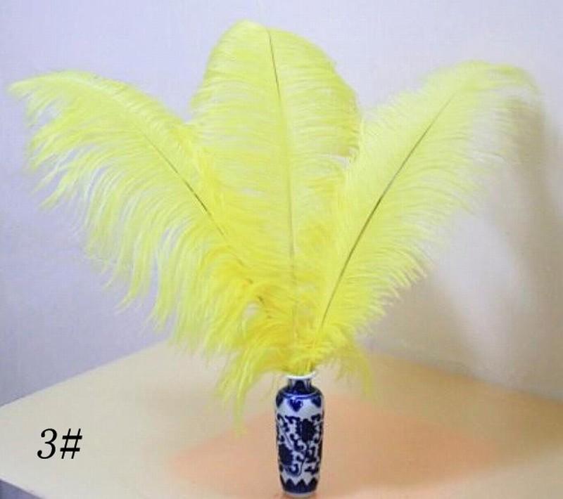 Plumes d'autruche teinté blanc noir plumes duveteuses autruche plumes garniture Boa noce partie de la maison de noël décor bricolage plume 8-10