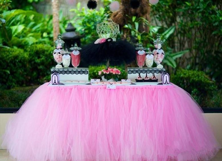 Pink Sky Blue Purple Tutu Tulle Wedding Decorations 2015 High Quality Table  Cloth For Birthday Party Wedding Supplies Custom Made Size Wedding  Decorations ...