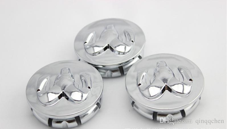 ABS 자동차 엠 블 럼 휠 허브 모자 54 mm 염소 허브 커버 자동차 로고 도브에 대 한 장식 센터 모자