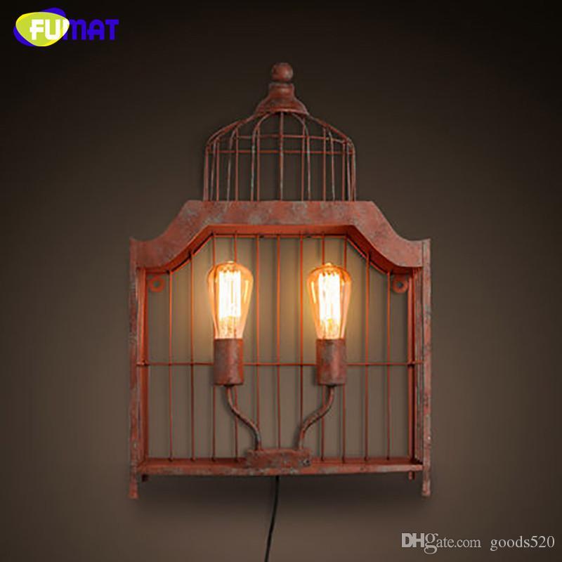 Acquista Applique Da Parete Industriale Vintage FUMAT Lampada Da ...