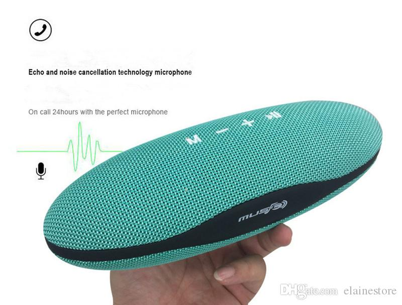 XC-Z6 Rugby Drahtlose Bluetooth Lautsprecher Outdoor 3D Stereo Subwoofer Lautsprecher Unterstützung TF Karte FM Handfree Stoff Kunst Für iphoneX Samsung