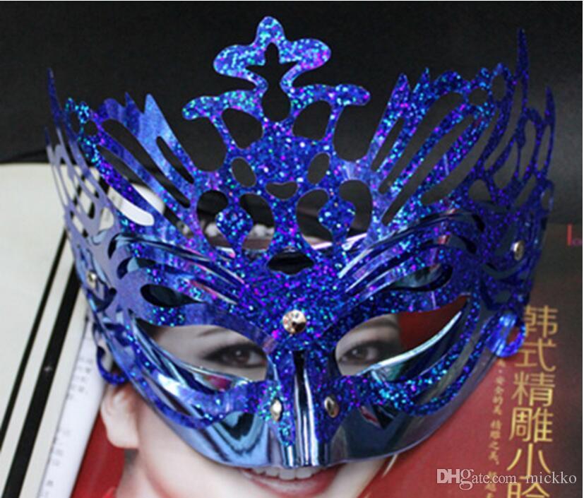 Erkekler Kadınlar Taç Maskeleri Masquerade Maskeleri Bar Kulübü Cadılar Bayramı Maskeleri Parti sevgililer Günü Mezuniyet Gösterisi Maskeleri