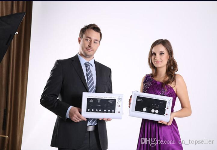 2in1 1.1MHz Ultraschall-Ultraschallhaut-Abbau-Körper-Therapie-Gesichtsbadekurortgerät Massageinstrument Gesichtshaut Massager