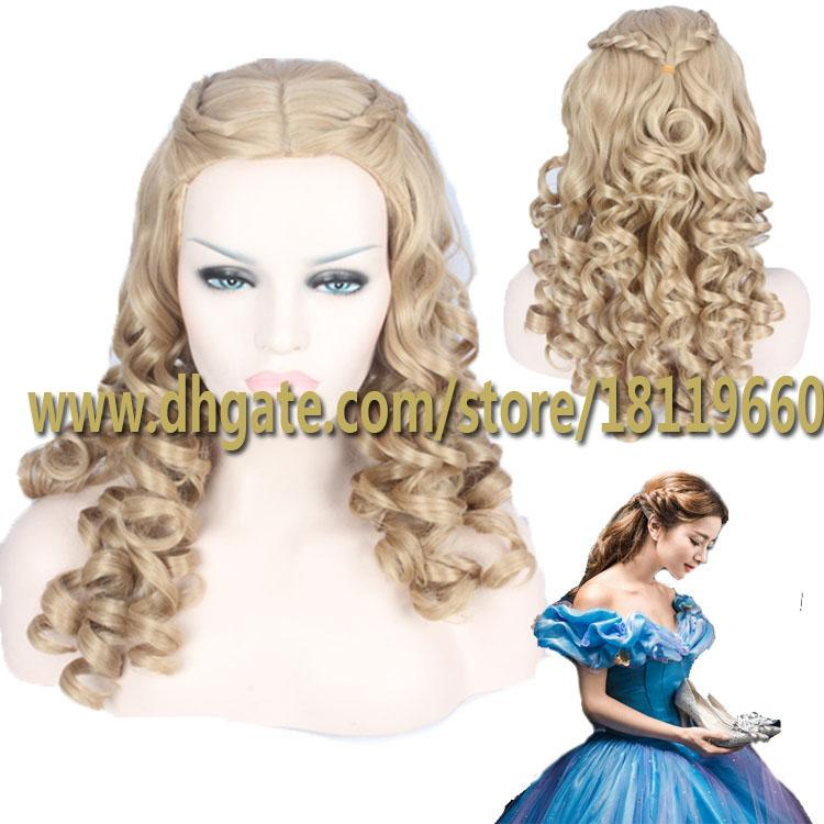 cinderella hair styles 2015 newest cinderella beautiful hair wigs midsplit 6696