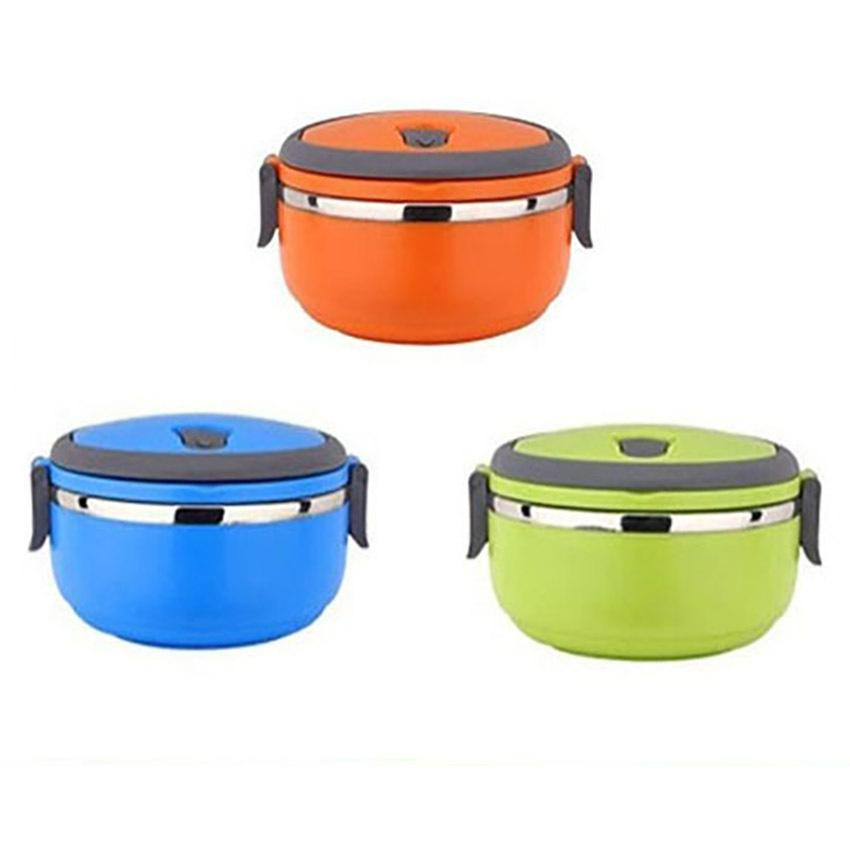 Online cheap korean stainless steel thermos bento lunch for Bento lunch box isotherme