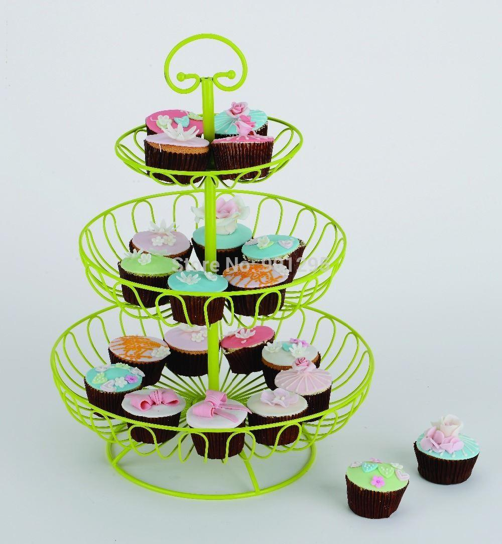 2018 NewFruit Basket Cupcake Stand Birthday Party Hotel Cake