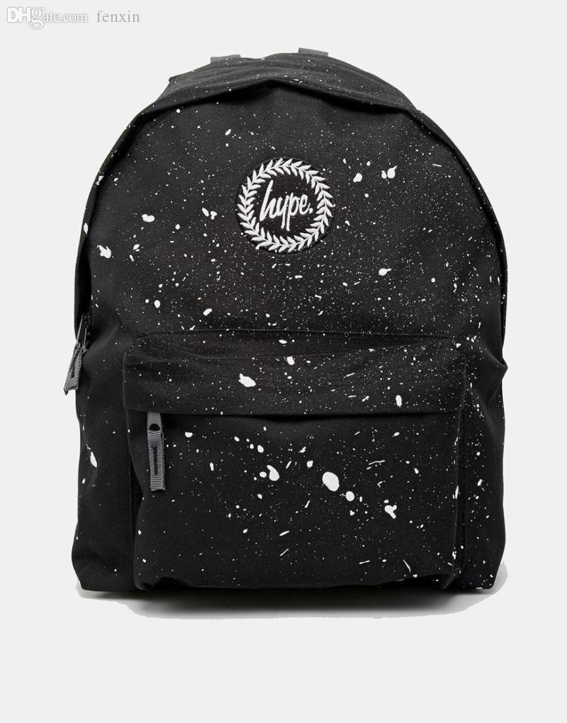 93448d05d7 Wholesale-HYPE BLACK WITH WHITE SPECKLE BACKPACK MOCHILA BATOHY PLECAK  Backpack Rack Backpack Satchel Backpack Trolley Online with  52.64 Piece on  Fenxin s ...