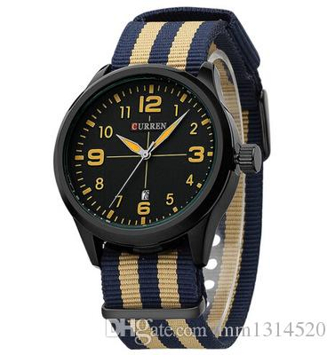Quartz Watches Men's Watches Men Military Watches Top Brand Geneva Fashion Men Date Alloy Case Synthetic Leather Analog Quartz Sport Watch Reloj Hombre Lovely Luster
