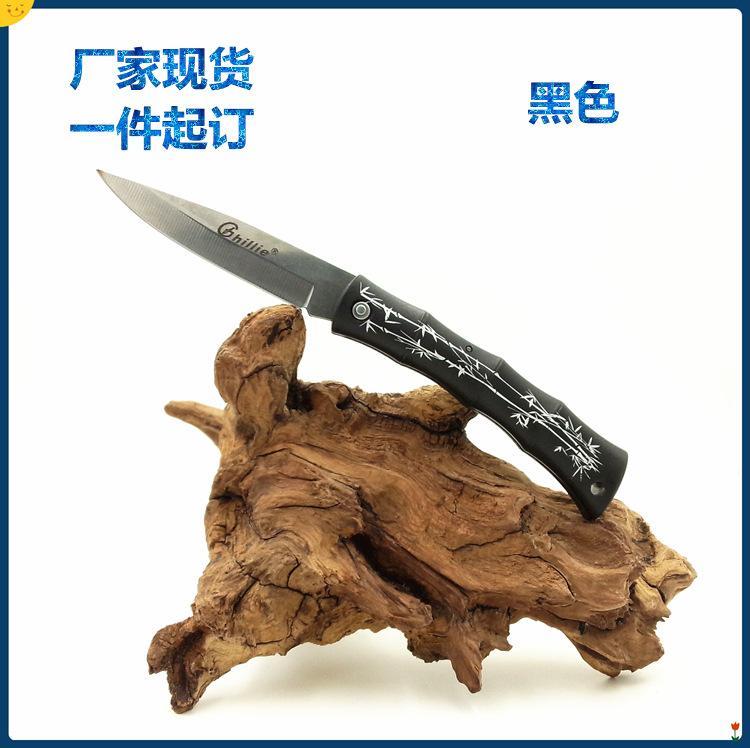 venta directa a un precio de Ghillie mini bolsillo plegable cuchillo de acero inoxidable hoja de mango ABS EDC cuchillo de cocina cuchillos de envío libre de DHL