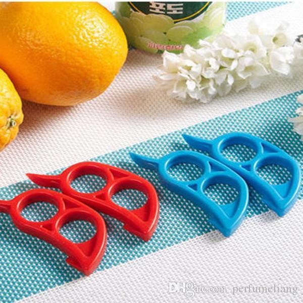 Carino topo forma limoni arancione agrumi apri peeler remover taglierina affettatrice rapidamente spogliatura strumento da cucina coltello pelle rimozione coltello