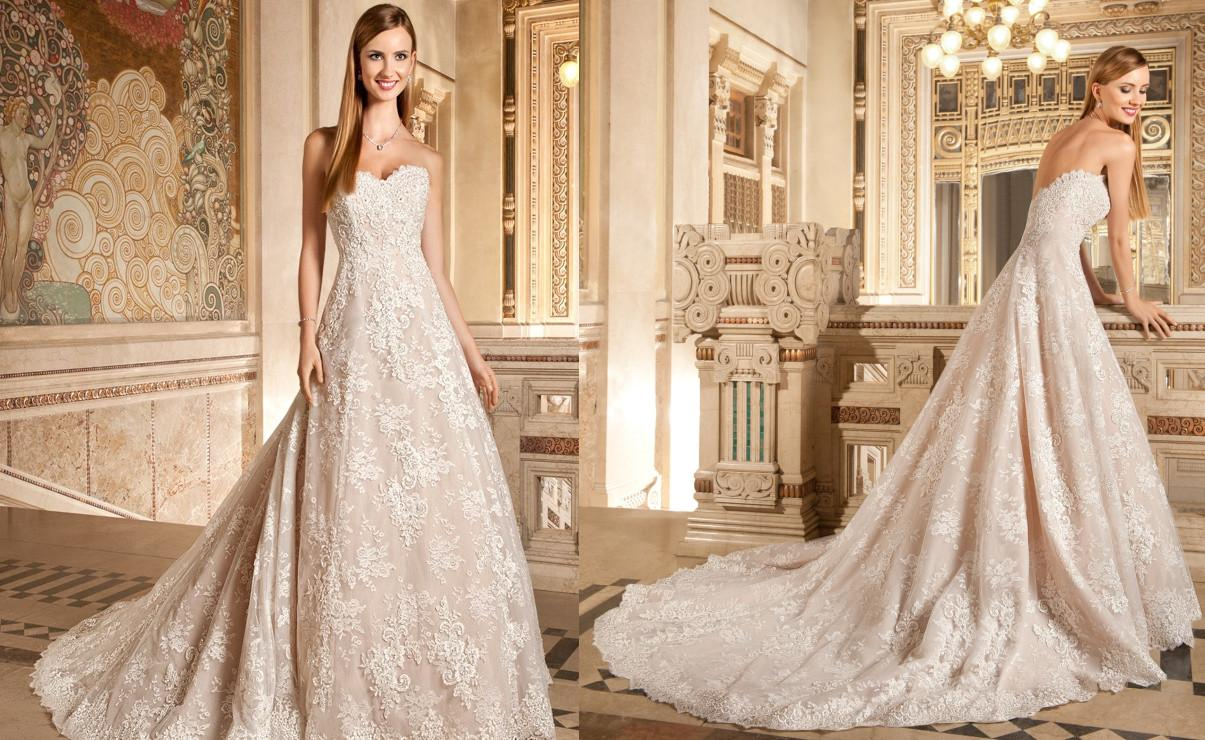 Discount 2015 demetrios champagne lace appliques wedding dresses discount 2015 demetrios champagne lace appliques wedding dresses 1495 a line sweetheart beads tulle sweep train backless elegent winter bridal gowns cheap a ombrellifo Choice Image