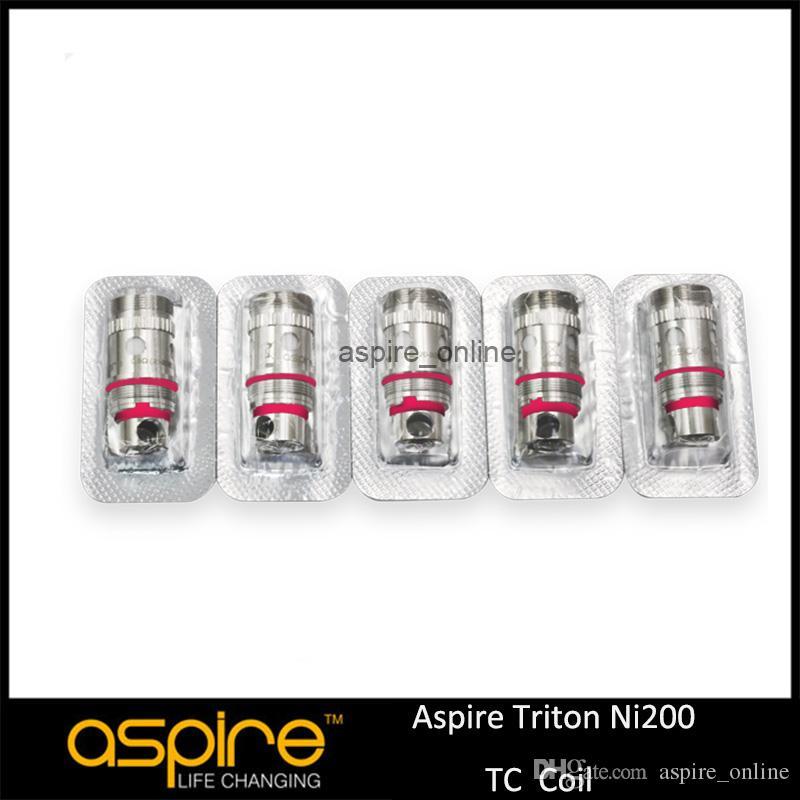 Wholesale Original Aspire Ni-200 Temp Control Coil Aspire Triton Ni200 Coil Heads 0.15ohm Aspire Triton Nickel Coils For Aspire Triton Tank
