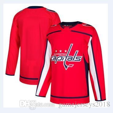 Best Quality Nhl Hockey Jerseys Cheap Men'S Washington Capitals Red  Authentic Custom Jersey Store Usa Sports Ice Hockey Blank Personalized  Factory Womens At ...