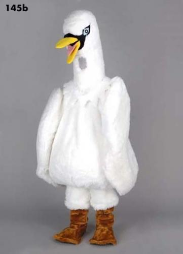 customized white swan plush mascot costumes halloween costumes christmas party adult size fancy dress mascot costume rentals bulldog mascot costume from
