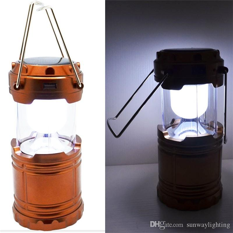 2018 Portable Solar Charger Camping Lantern Lamp Led Outdoor Lighting  Folding Camp Tent Lamp Usb Rechargeable Lantern From Sunwaylighting,  $193.69 | Dhgate.