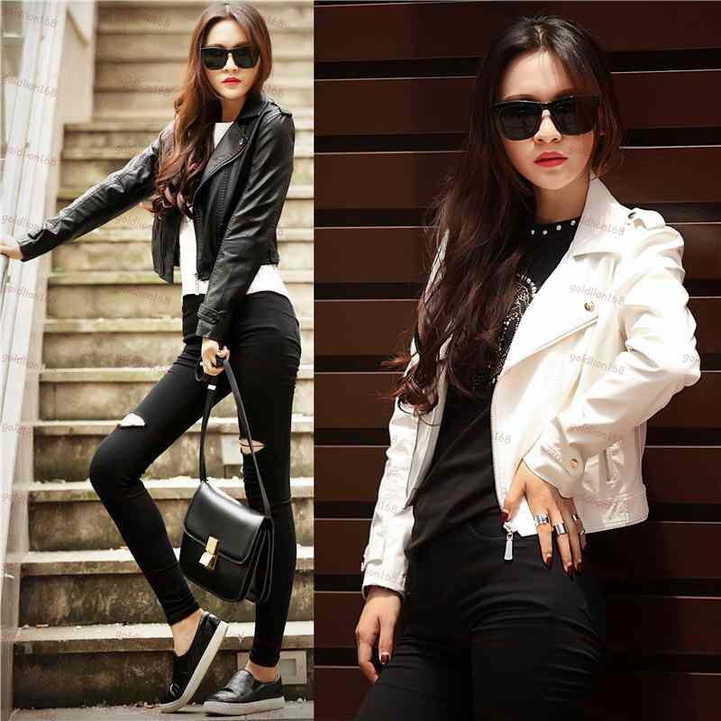 Cheap Leather Coats For Women | Fashion Women's Coat 2017