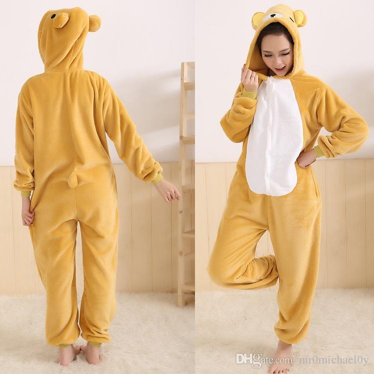 912a0e1939 2019 Easy Bear Animal Onesies Pajamas Onesies Adult Cute Animal ...