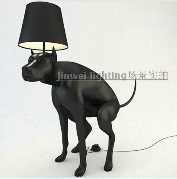 2017 Modern Simplicity Unique Creative Personality Big Dog Resin Floor Lamp Laden Living Room Hall From Haifuguo 100503