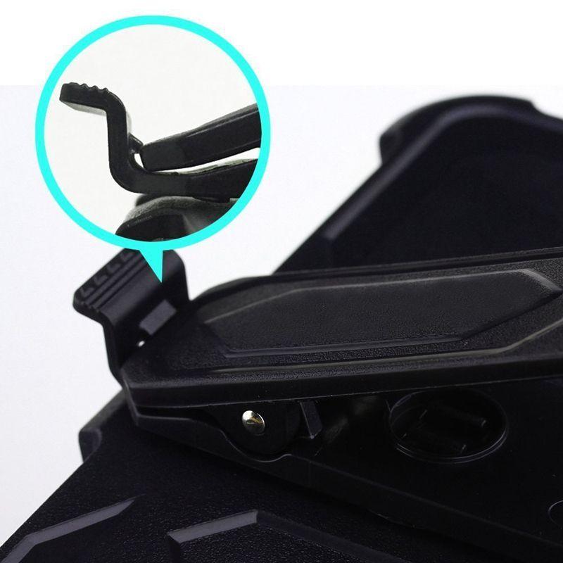 For Alcatel idol 4 Nitro 4 heavy duty armor defender holster belt clip kickstand case DHL