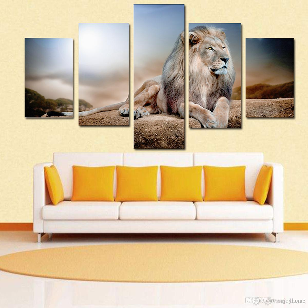 Best Fashionable Environmental Protection Five Couples Lying Lion ...