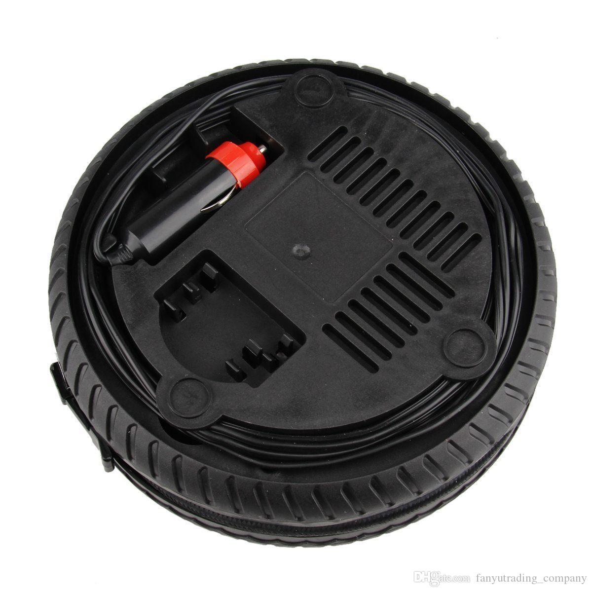 2017 Mini Portable Électrique Compresseur D'air Pompe De Voiture De Pneumatique Pompe Outil 12V 260PSI FP9 Free Shpping