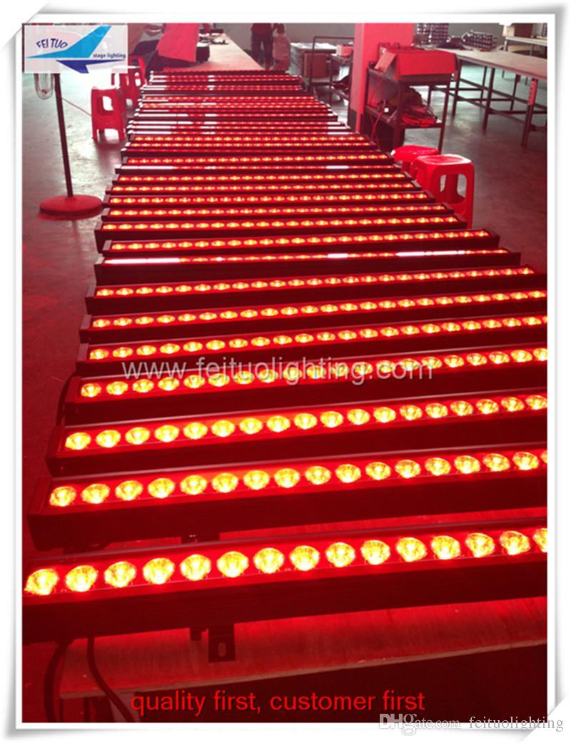 16 teile / los China markt hohe qualität outdoor led waschlicht 24x4 w rgbw 4in1 wall washer, dmx rgbw wall washer