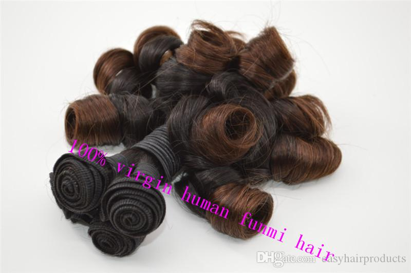 Ombre Funmi Hair,Peruvian Double Drawn Funmi Hair, G-EASY Human Hair Aunty Funmi Hair Extension Stock fast Shiping