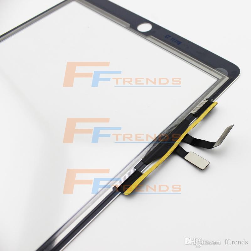 Бесплатная доставка сенсорный экран стекла дигитайзер сенсорная панель для iPad воздуха замена запасных частей высокое качество 100% тестирование груза падения