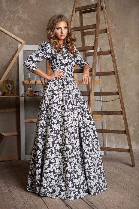 New 2015 Women Autumn Maxi Dress Elegat Dresses Long Sleeve Women ...