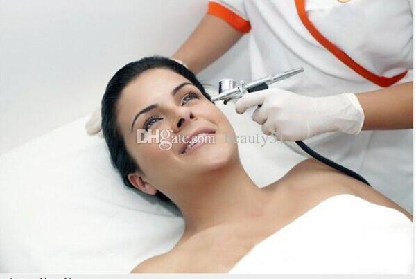Fornecimento de fábrica de cuidados da pele facial rejuvenescimento da pele jato de oxigênio peel máquina de oxigênio máquina DHL navio livre