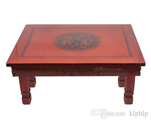 2017 Korean Table Folding Legs 6045cm Living Room Antique Tea