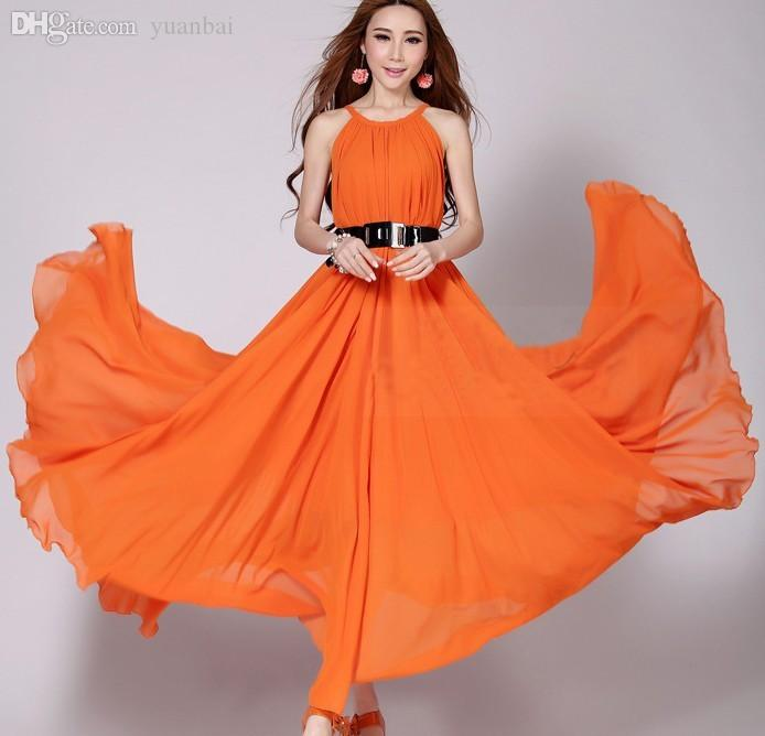 94d0b8b940 Wholesale-Summer Style Women Plus Size 6XL Sexy Bohemia Chiffon Long Maxi  Dress 5XL 4XL XXXL Big Size Quality Summer Maxi Beach Dresses