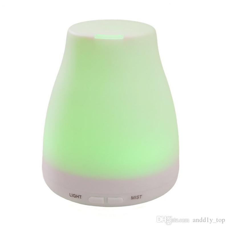 2018 New LED Humidifier 100ml diffuser for aromatherapy diffuser ultrasonic essential oil diffusers Humidifiers with LED light