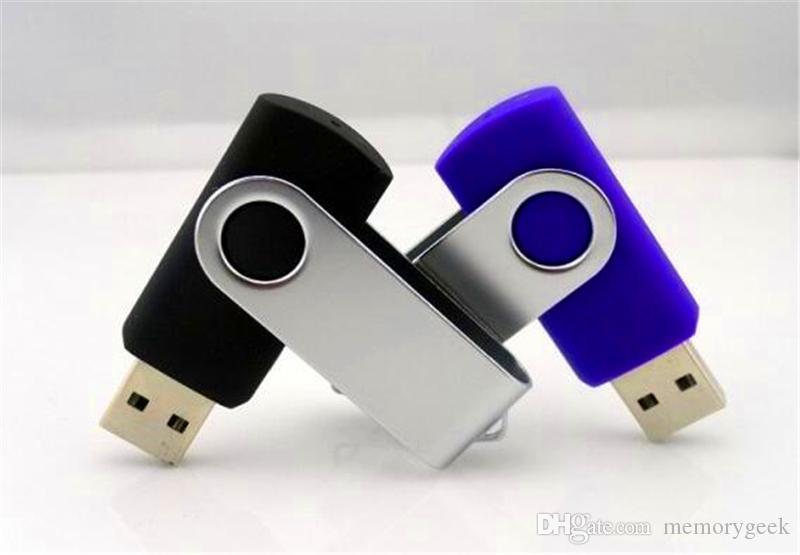 2020 100 % 진짜 2기가바이트 4기가바이트 8기가바이트 16기가바이트 32기가바이트 64기가바이트 금속의 USB 플래시 드라이브 USB 2.0 금속 pendrive 메모리입니다 스틱을 회전 로고를 사용자 정의 할 수 있습니다